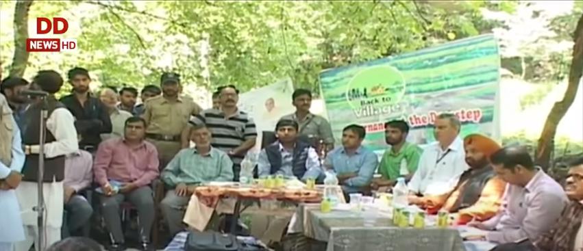 जम्मू-कश्मीर तब और अब: 'बैक टू विलेज' और 'बैक टू विलेज 2' कार्यक्रम के प्रति लोगों में ख़ासा उत्साह