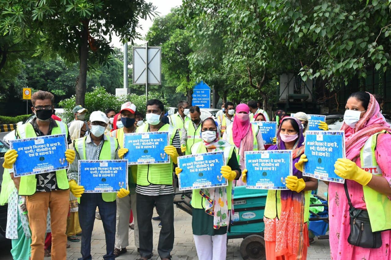 एनडीएमसी ने 'आजादी का अमृत महोत्सव' मनाने के लिए 'स्वच्छता' की थीम पर गतिविधियों की एक श्रृंखला का किया शुभारंभ