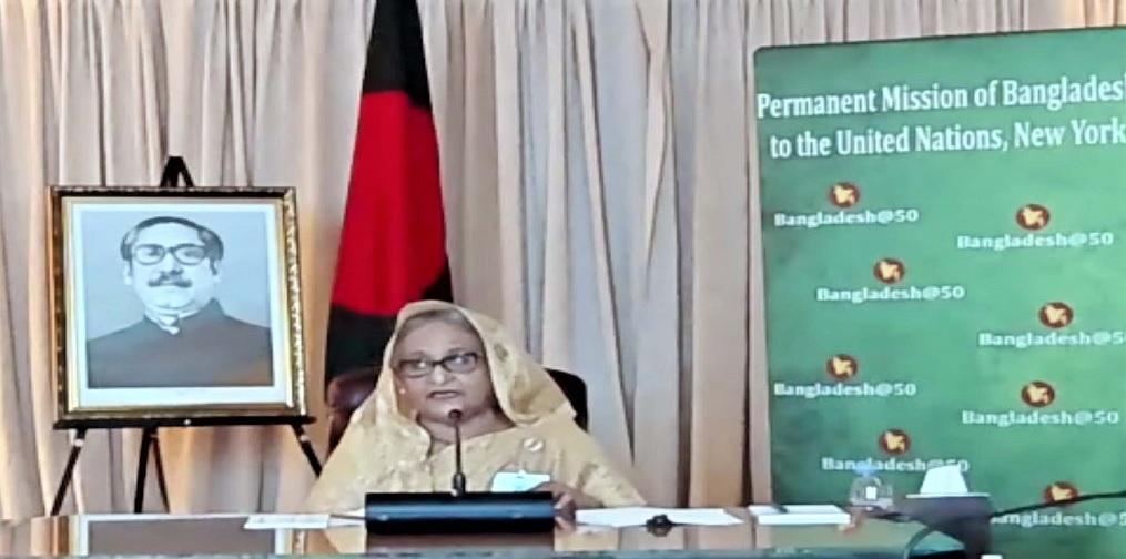 Prime Minister Hasina conferred award for Bangladesh's steady progress in achieving UN SDGs