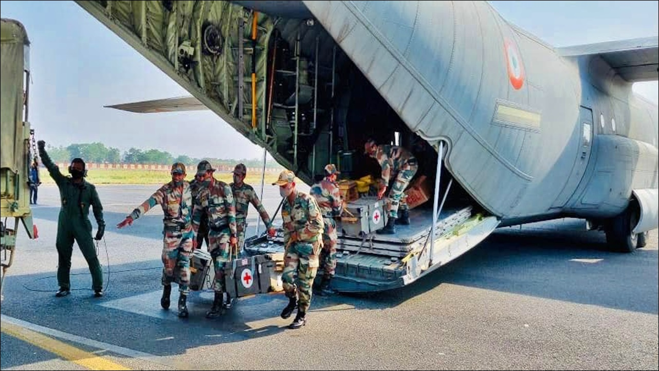 Army mobilises two field hospitals by air to establish 500 bed COVID hospital at Patna