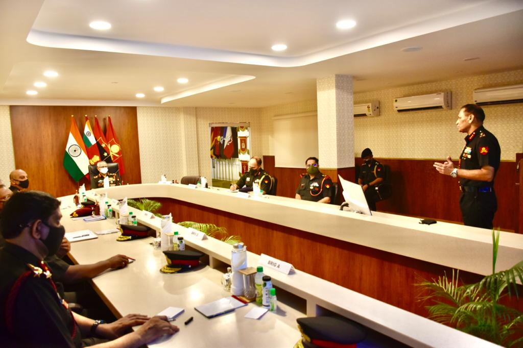 Chief of Army staff MM Naravane concludes two day visit to Mumbai