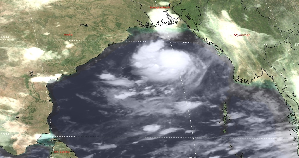 Cyclone Gulab moves westward, rain likely over many parts in Bangladesh