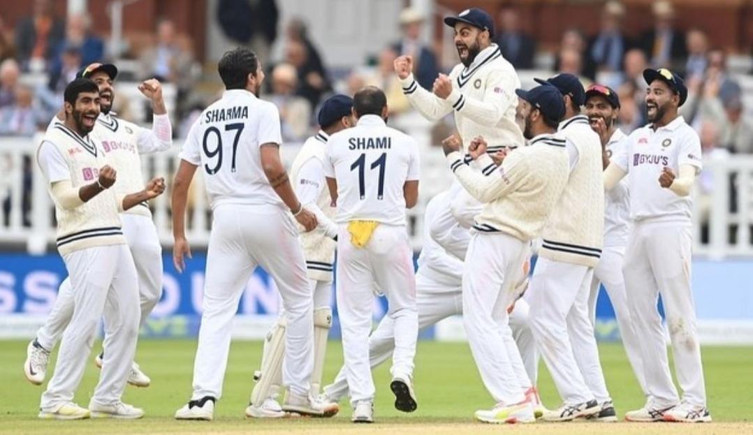 भारत ने दूसरे टेस्ट में इंग्लैंड को 151 रन से हराया, टीम इंडिया ने 7 साल बाद लॉर्ड्स में दर्ज की जीत