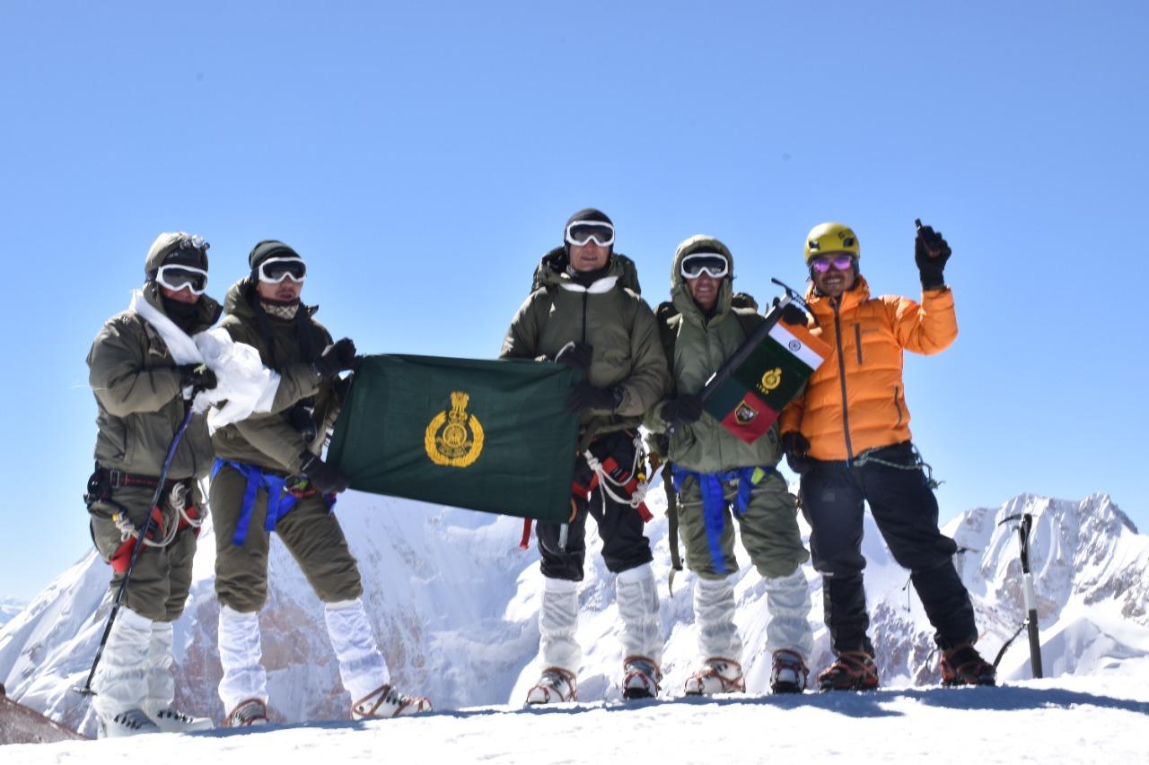 आईटीबीपी ने पूर्वी लद्दाख में दो चोटियों को फतह किया, एक पर्वत को दिया अपने पूर्व पर्वतारोही का नाम 'नुर्बू वांगदुस पीक'