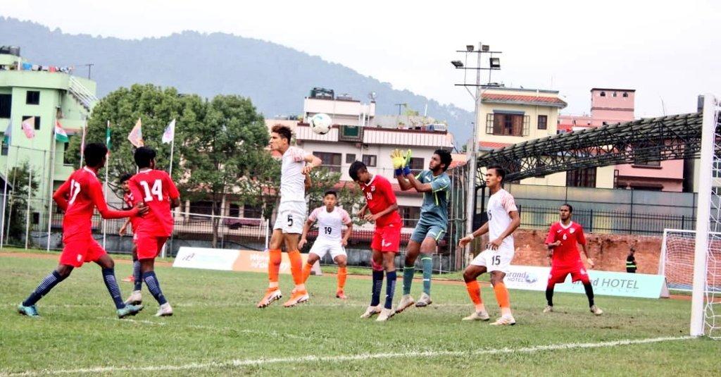 India enter final of SAFF U-18 Football Ch'ship in Kathmandu; beat Maldives 4-0