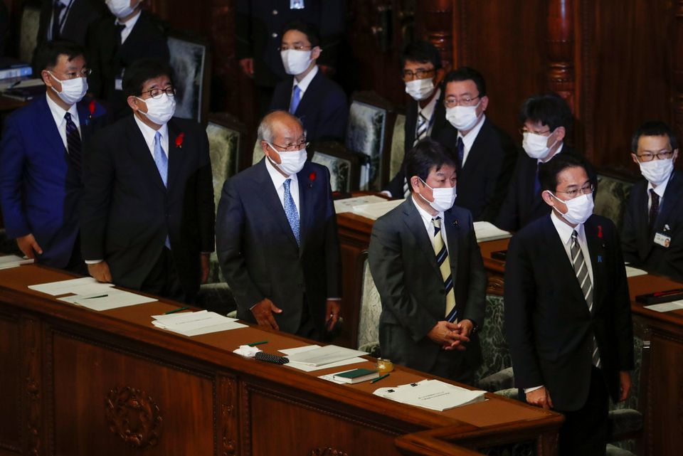 Japan LDP election platform draft does not mention financial tax