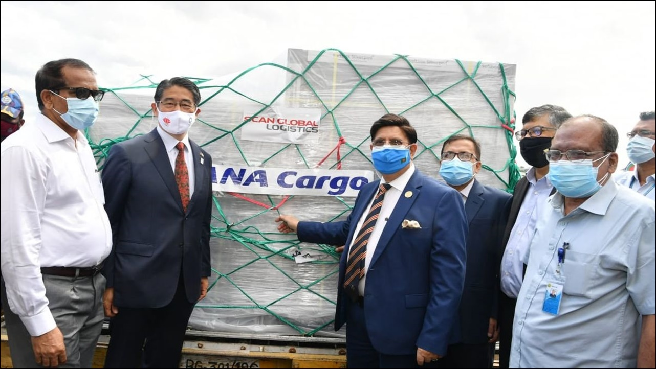 Japan sends 2.45 lakh AstraZeneca COVID vaccines to Bangladesh, 3 million doses to follow