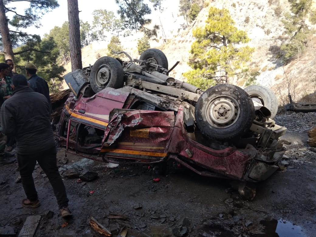 11 dead as SUV falls into gorge in J&K's Ramban