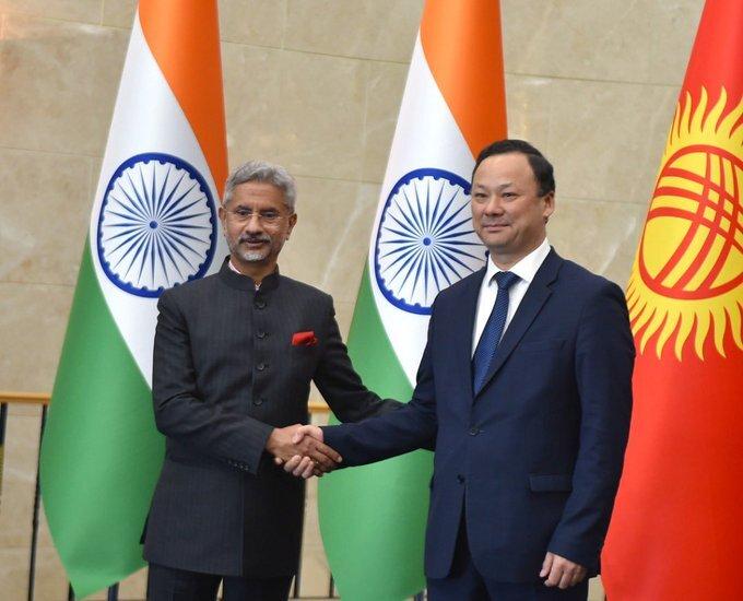 EAM S Jaishankar arrives in Kyrgyzstan capital for bilateral meeting