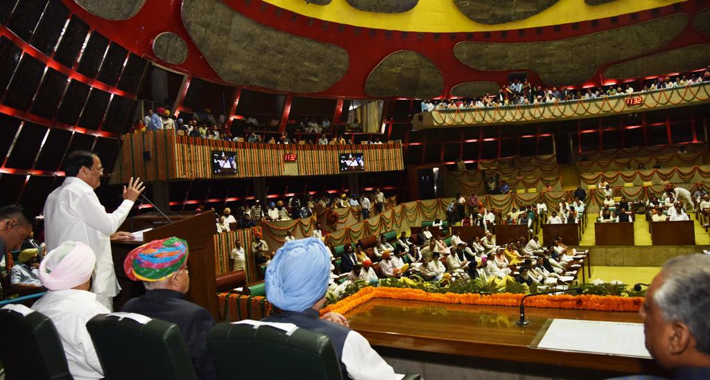 550th Birth Anniversary of Guru Nanak: VP Naidu addresses special session of Punjab Assembly