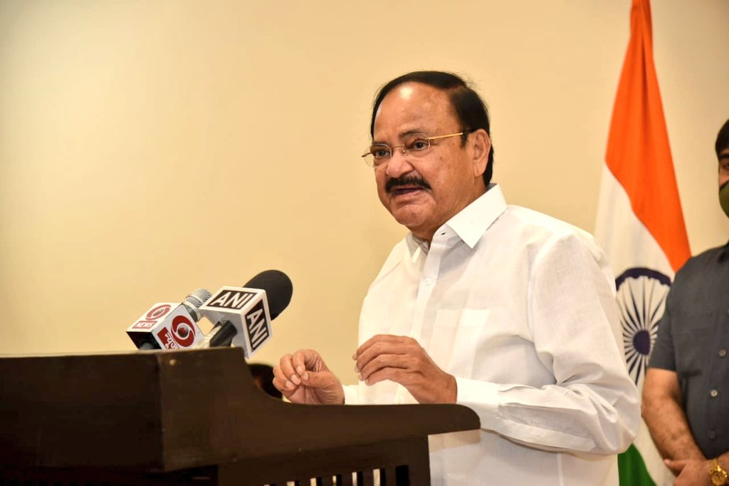 Vice President M. Venkaiah Naidu calls for launching massive multimedia campaigns in local languages