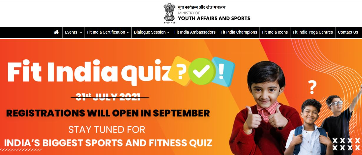 'Fit India Quiz' to be launched today