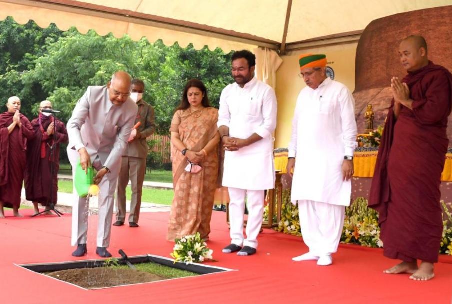 Buddha's teachings reinforce message of Vasudhaiva Kutmbhakam: Union Minister G. Kishan Reddy