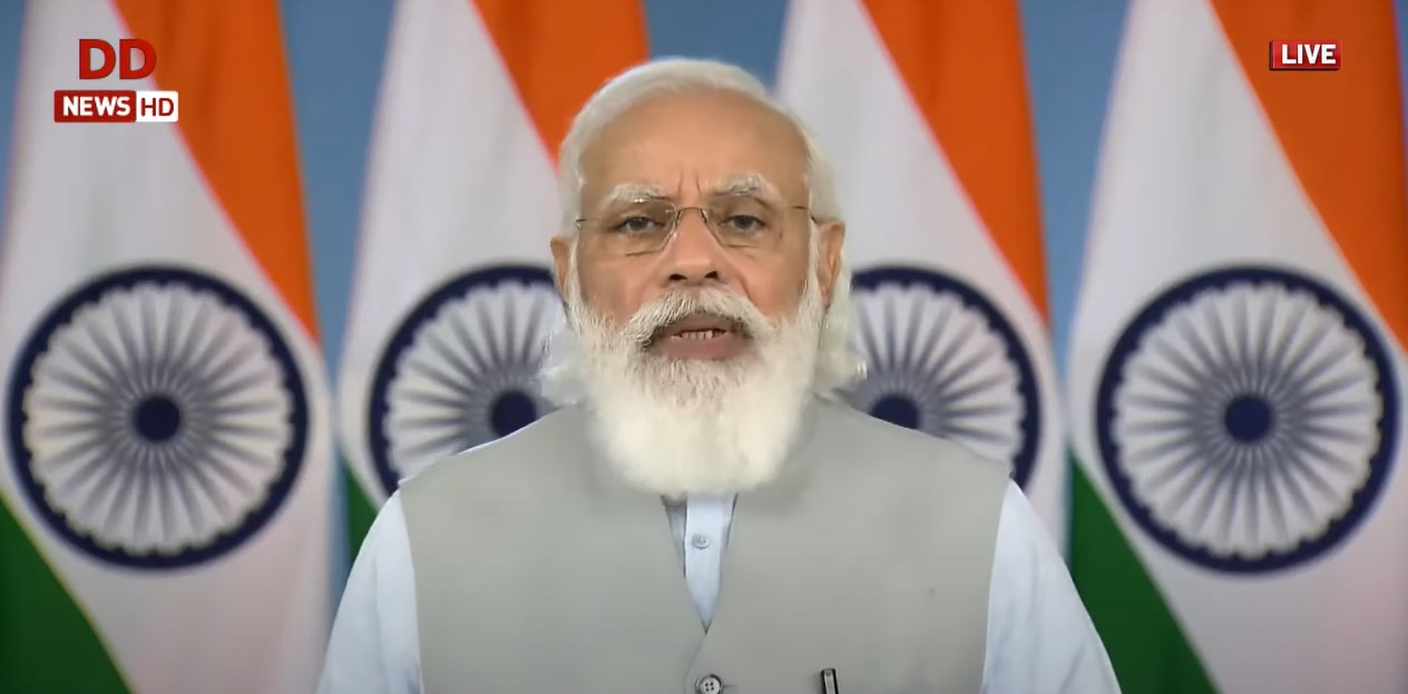 Public participation is again becoming the national character of India: PM Modi