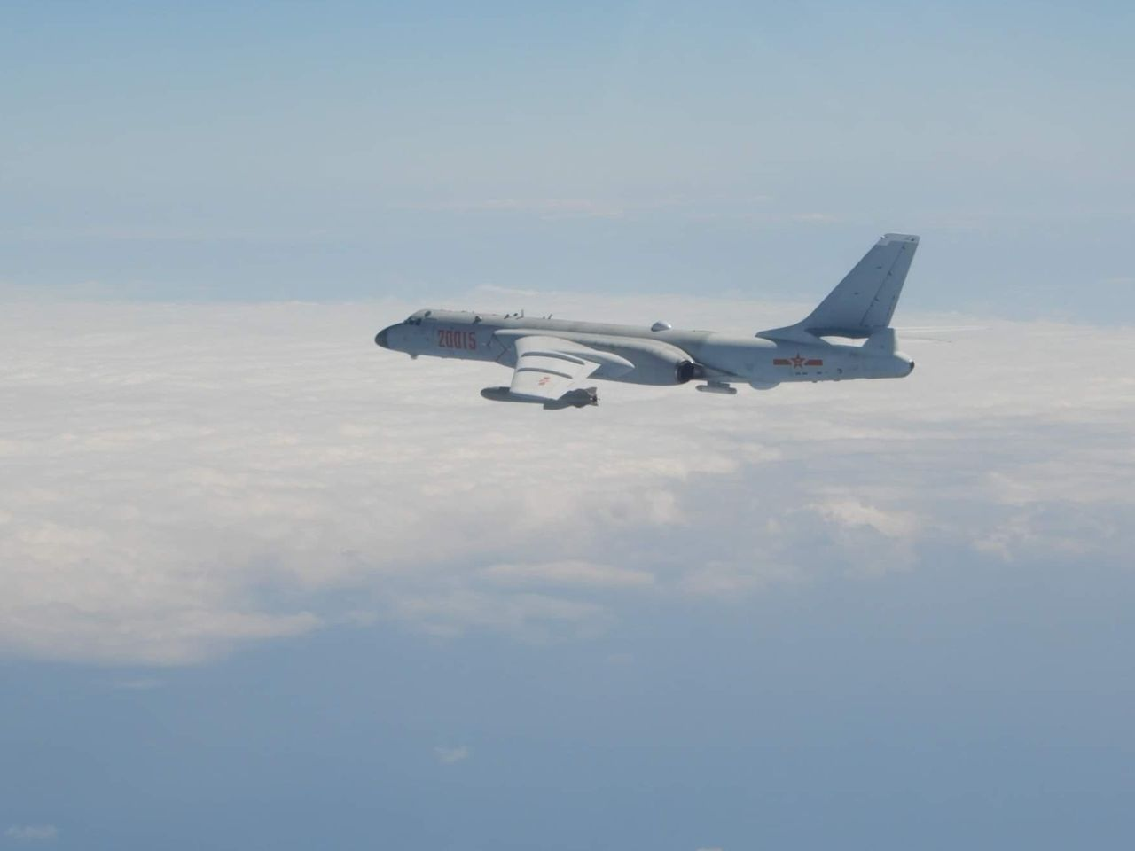 Taiwan says, China flew 56 jets to its air defense zone, the largest so far; China urges US to stop provocative behavior