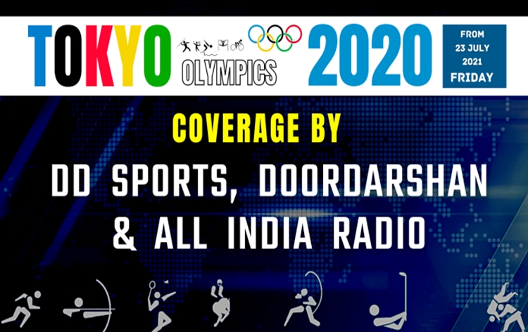 Doordarshan, AIR and DD Sports make elaborate arrangements to cover Olympics 2020