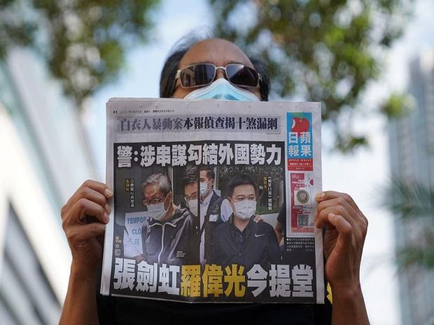 Hong Kong's last remaining pro-democracy newspaper Apple Daily shuts amid severe crackdown from Beijing