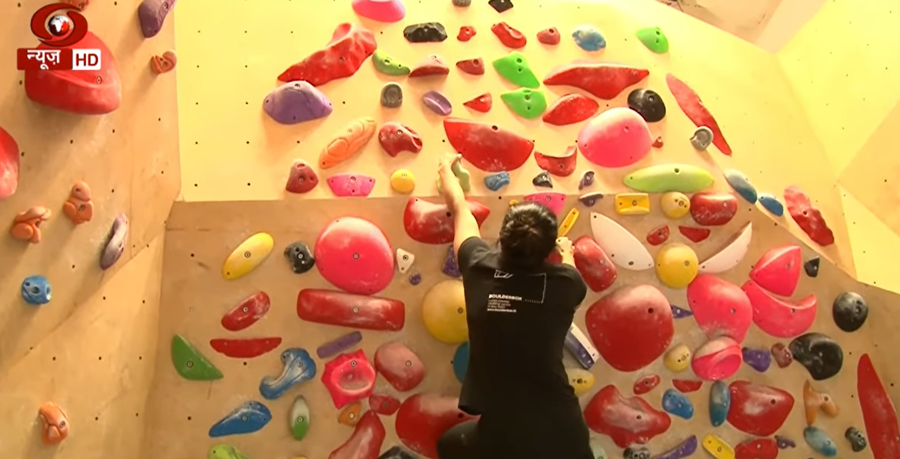 Scaling new heights of fitness with indoor climbing | Fit India Movement