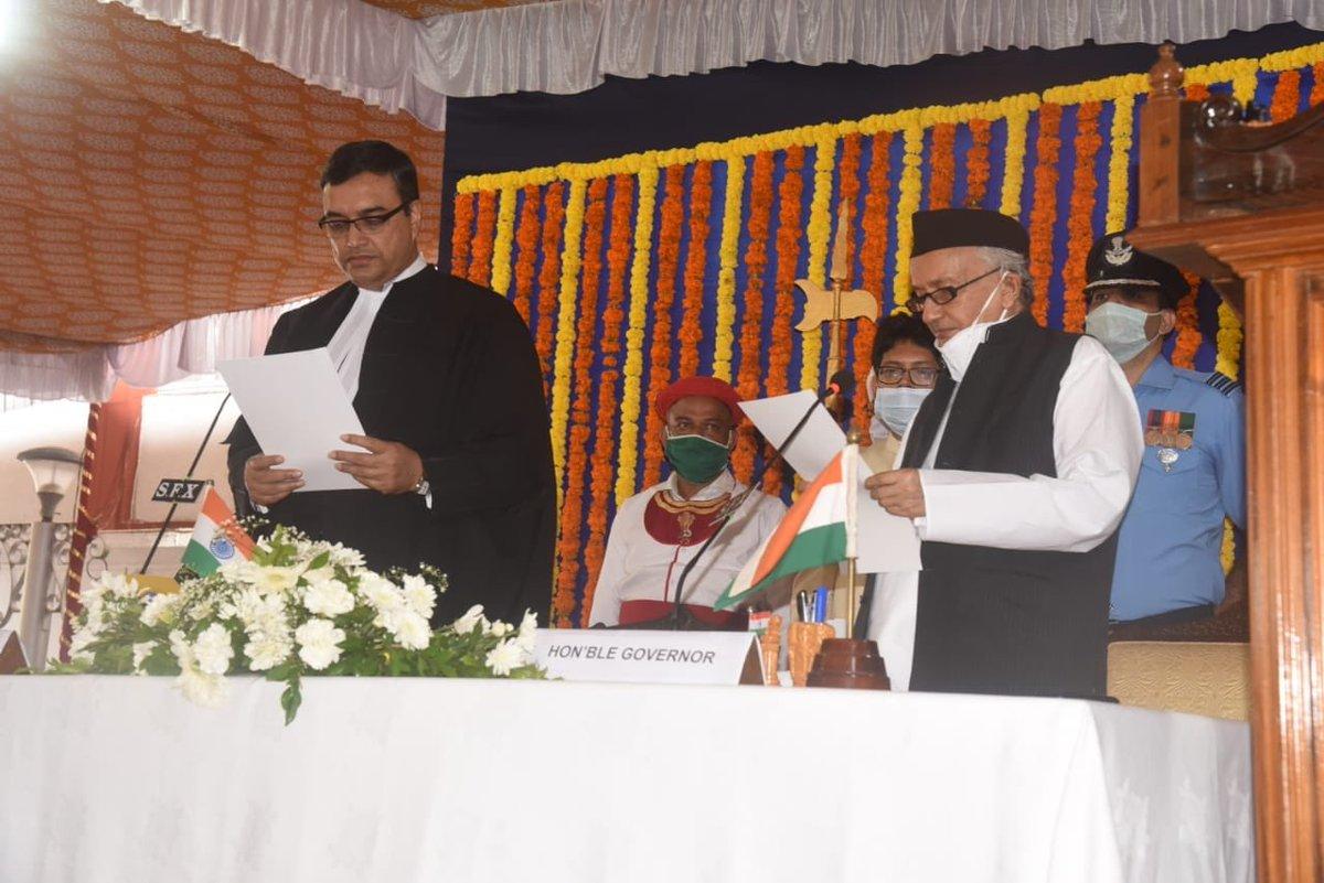 Bhagat Singh Koshyari assumes additional charge as Goa Governor