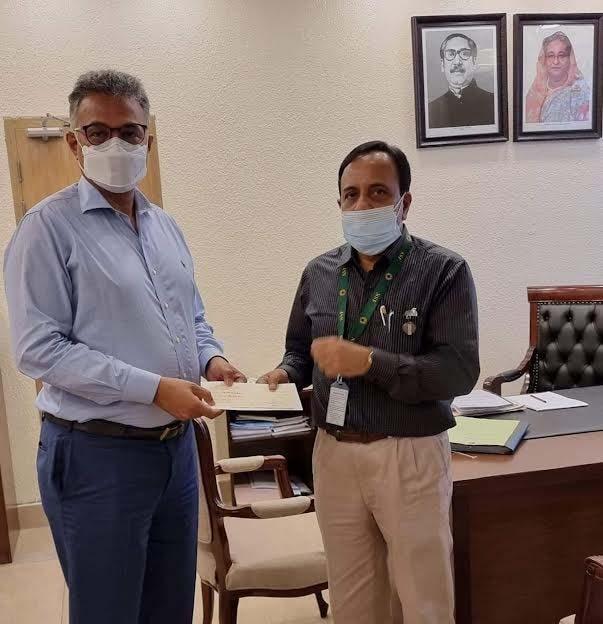 Prime Minister Sheikh Hasina donates Tk 3 crore for Durga Puja in Bangladesh