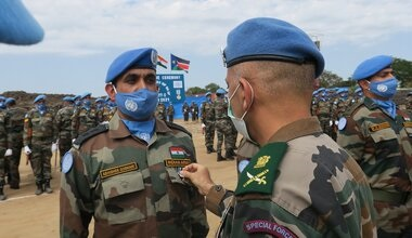 Camaraderie of Indian and Sri Lankan soldiers wins peace in far away lands