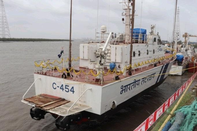Indian Coast Guard launches interceptor boat in Surat