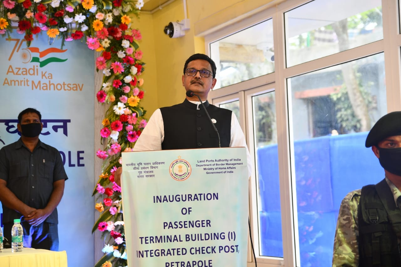 Bangladesh-India relations are a role model for any neighbouring country: State Shipping Minister Khalid Mahmud Chowdhury