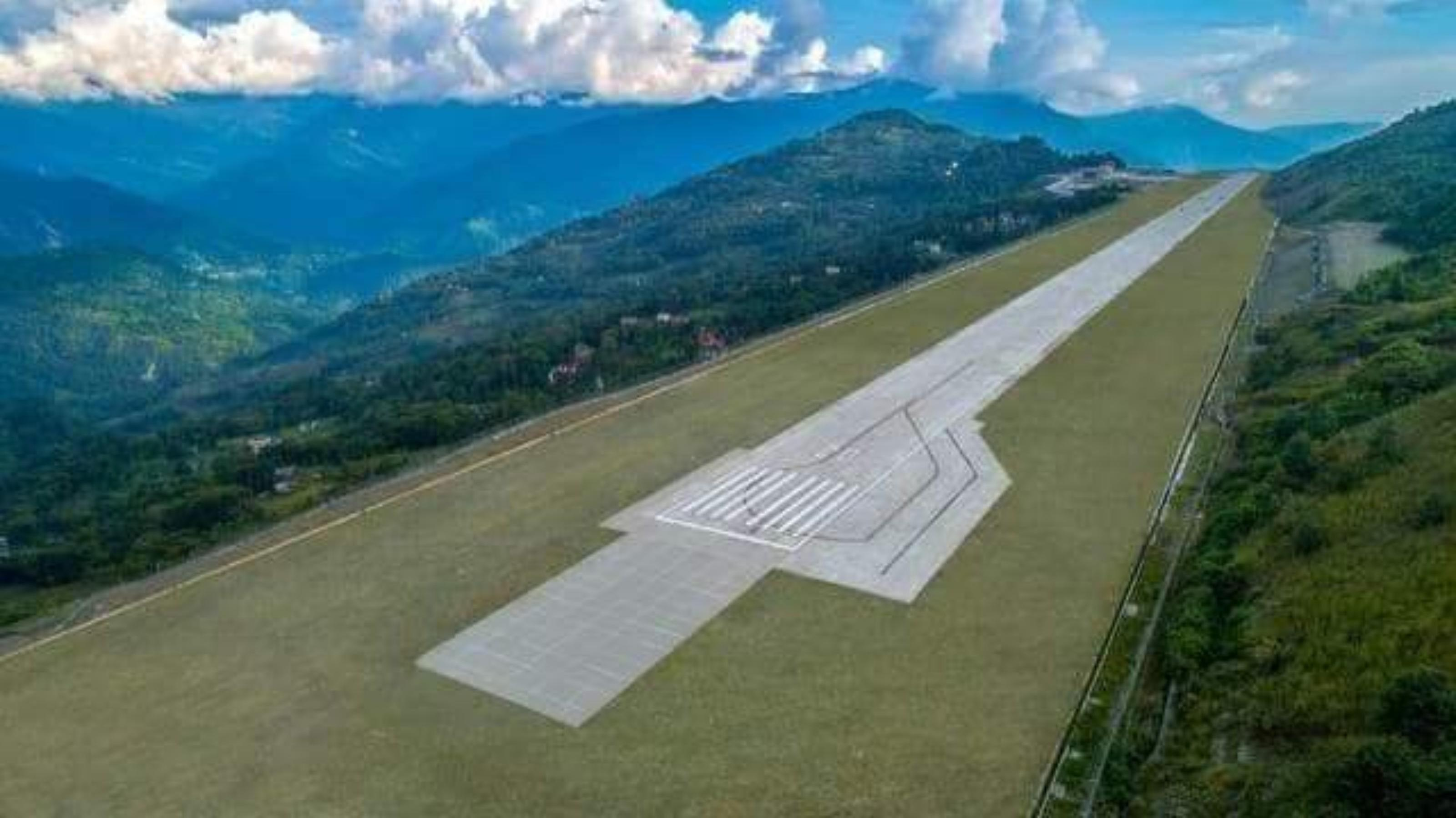 Sikkim gets her first airport as PM inaugurates Pakyong airport