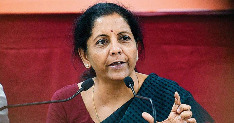 FM reviews implementation of Aatma Nirbhar Bharat Package