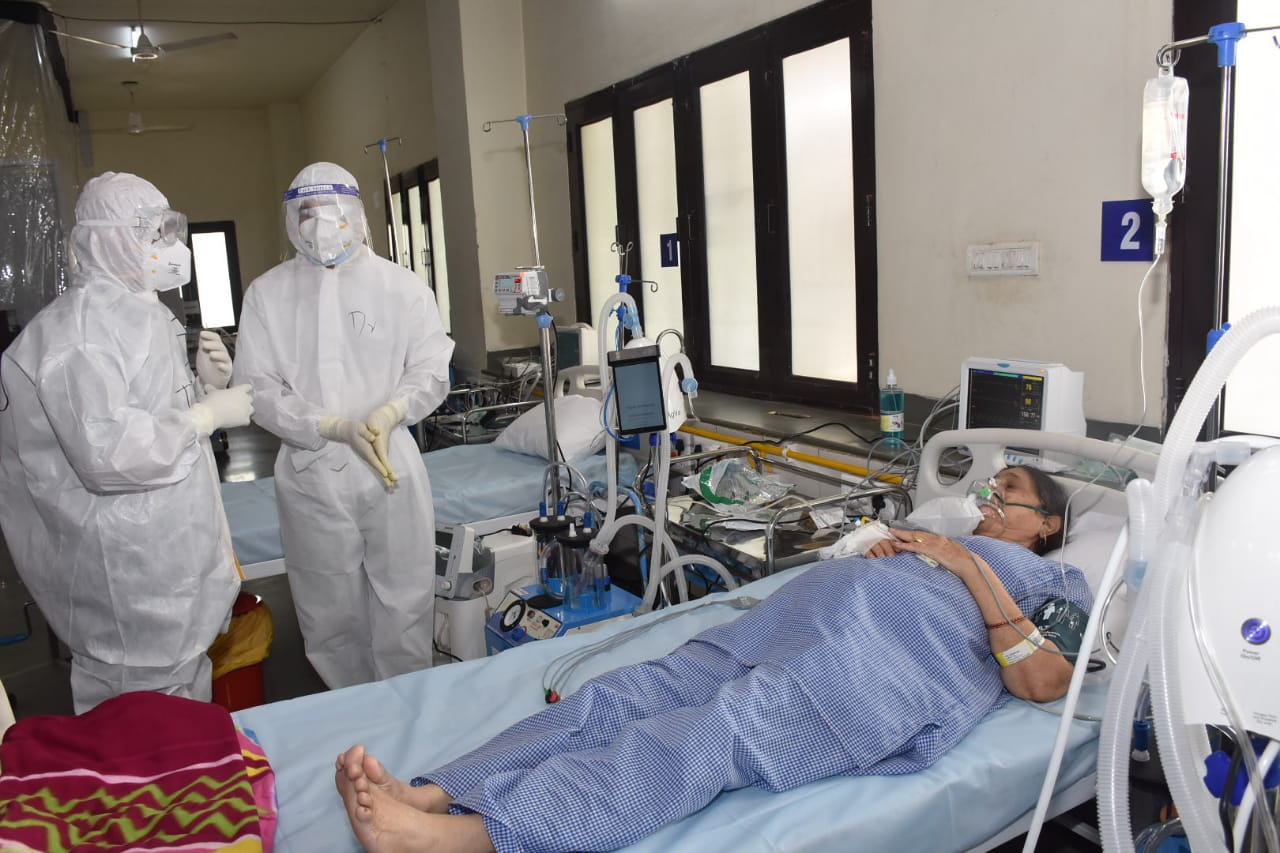 150 GPS based ventilator beds from PM Cares Trust Fund established at SPCCC, New Delhi started functioning