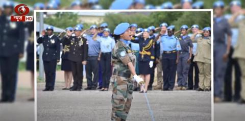 'तेजस्विनी' में संयुक्त राष्ट्र द्वारा सम्मानित मेजर सुमन गवानी से ख़ास बातचीत