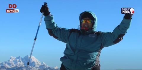 'तेजस्विनी' में मरीन पायलट रेशमा नीलोफर से ख़ास बातचीत