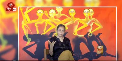 'तेजस्विनी' में ख्याति प्राप्त चित्रकार अर्पणा कौर से ख़ास बातचीत