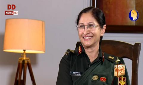 तेजस्विनी: देश की तीसरी महिला लेफ्टिनेंट जनरल डॉ माधुरी कानितकर से ख़ास बातचीत