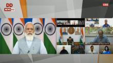 टोक्यो 2020 पैरालंपिक खेलों में हिस्सा लेने जा रहे भारतीय दल से प्रधानमंत्री नरेंद्र मोदी का संवाद