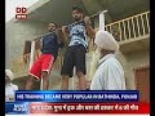 Madha Singh ex-army man trains youth to join army and police
