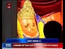Hanuman Jayanti is being celebrated today with religious fervour