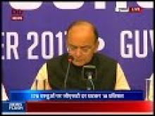 FM Arun Jaitley briefs media after 23rd GST Council Meet