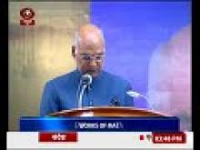 President Ram Nath Kovind hails work of Mata Amritanandamayi