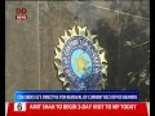 COA Seeks SC's directive for removal of current BCCI office bearers
