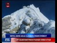 Nepal bans solo climbers from everest