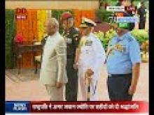 President Kovind pays tribute at Amar Jawan Jyoti on 71st Independence Day