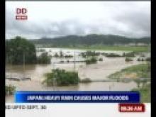 Japan: Heavy rain causes major floods