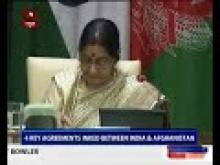 4 key agreements inked between India and Afghanistan