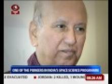 Renowned Space Scientist U.R. Rao passes away