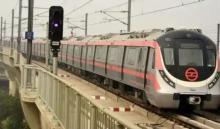 दिल्ली मेट्रो के पिंक लाइन की सेवाएं सोमवार से गुरुवार तक रहेगी प्रभावित