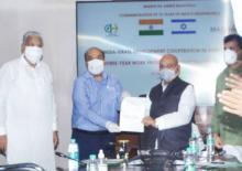 भारत-इजराइल ने कृषि में सहयोग के लिए 3 साल की कार्य योजना पर हस्ताक्षर किये
