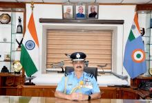 Air Chief Marshal VR Chaudhari takes over as the chief of the Air Staff
