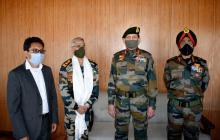 Chief of Army Staff visits fire and fury corps