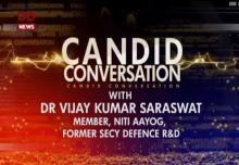 Candid Conversation with Dr. Vijay Kumar Saraswat, Member, NITI Aayog | 12/11/17
